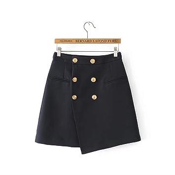 GDNTCJKY Faldas para Mujer Falda Corta Estilo Vintage Falda De ...