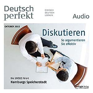 Deutsch perfekt Audio - Diskutieren. 10/2015 Audiobook