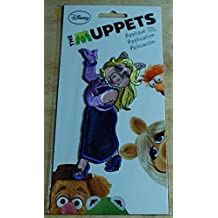 The Muppets Miss Piggy Fabric Applique Iron-on Patch