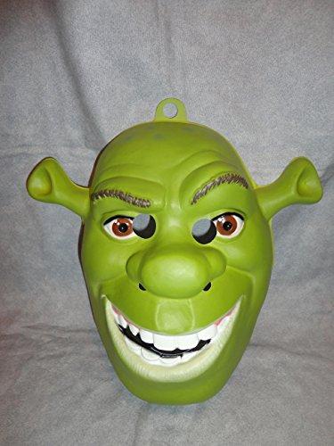 Shrek Ogre PVC Mask Kid Size Rubies Halloween Dress -