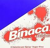 Binaca sugar-free Aeroblast 150 Breath Spray, Spearmint 0.214 oz(pack of 6)
