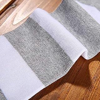 VEA-DE Calzini da Gamba Calda, Giapponese Bar sopra Le Calze al Ginocchio Primavera Femminile e Calze estive Calze di Cotone Studente Sportivo Deodorante Bici Bottoming (Colore: Grigio)