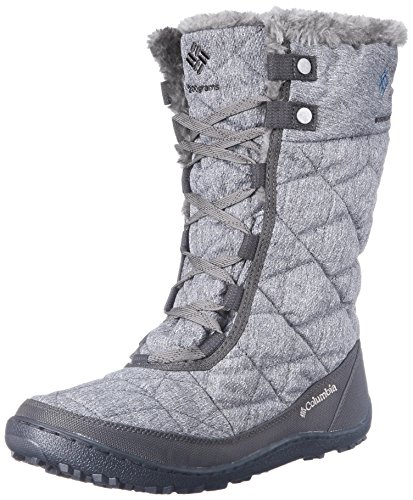 Columbia Women's Minx Mid II OH Twill Winter Boot, Quarry/Jewel,