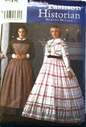 Civil War Dress Gown (Simplicity #7212 Costume Sewing Pattern