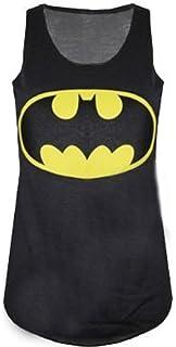 83f9af8fe7b1a Mymixtrendz®® - Culture Superman Batman Femmes Top Tie Up Vest