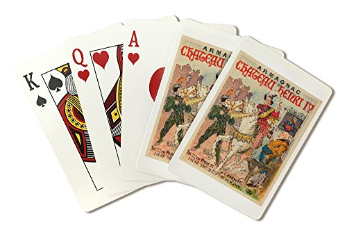 (Armagnac Chateau Herni IV Vintage Poster France (Playing Card Deck - 52 Card Poker Size with Jokers))