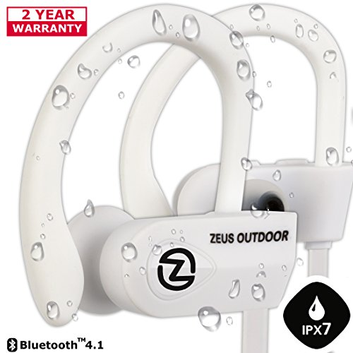 Wireless Bluetooth Headphones ZEUS OUTDOOR Noise Cancelling Wireless Earbuds HD Stereo Waterproof...