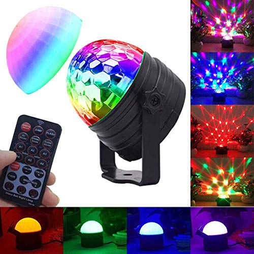 (Party lights ceiling light projector disco ball rotating strobe lights for parties and disco lights bedtime projector night light with timer for kids room birthday decorations wedding)