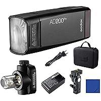 Godox AD200Pro 200Ws 2,4G TTL HSS 1 / 8000s latarka kieszonkowa Monolight Double Head Strobe z baterią litową 2900 mAh…