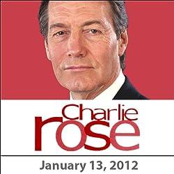 Charlie Rose: Jodi Kantor, Wade Davis, and Todd Buchholz, January 13, 2012
