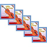 5 Sets Alice A803 Steel Core Nickel Silver Wound Cello Strings