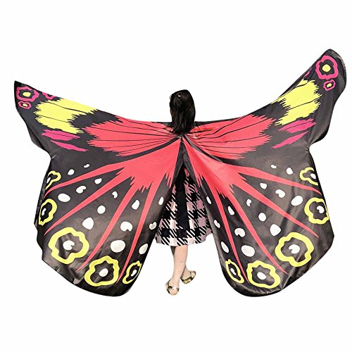 Butterfly Wings Toys Kids Baby Girl Belly Dancing Costume Unisex Children Butterfly Wings Dance Accessories No Sticks -