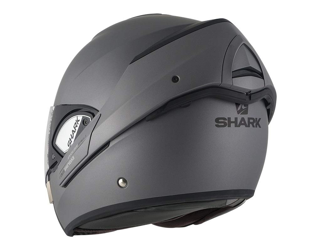 Motorcycle helmets EVOLINE 3 BLANK Matt AMA Shark