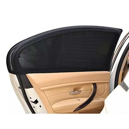 Amazon.com  TRSUSA Car Sunshade Curtain UV Protection - 2Pcs Car Window  Cover Shield Sun Shade Visor Mesh Solar Mosquito Dust Protection Car-covers  New  ... 6baaf8a755d2