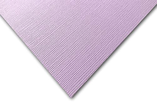 DCS Canvas Textured Hydrangea Purple Card Stock - 20 Sheets - Matches Martha Stewart Hydrangea - Great for Scrapbooking, Crafts, DIY Projects, Etc. (8.5 x 11)