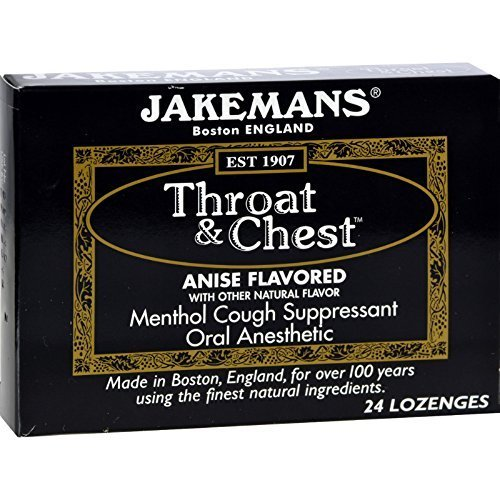 Lozenge, Throat and Chest, Anise, 24 ct ( Value Bulk Multi-pack)