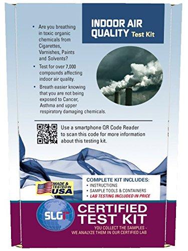 Indoor Air Quality Test Kit 1 PK (5 Bus. Days) Schneider Labs