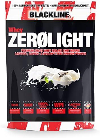 #sinob Whey ZEROLIGHT - 100% Pures Whey Isolat Mit Einzigartiger SHOT Matrix. Laktose-, Gluten-& Bullsh*t Frei. Optimal Für Fettfreien Muskelaufbau. 1 x 750 g (Vanille Icecream)