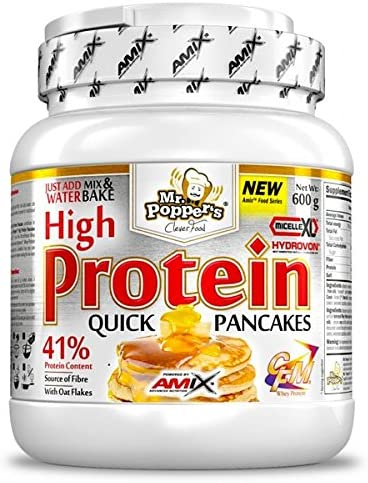Amix High Protein Pancakes 600 Gr Coco-Chocolate 0.6 600 g ...