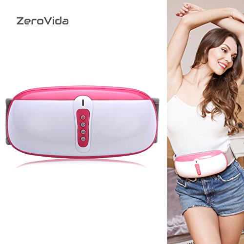 ZEROVIDA Slimming Belt Electric Fitness Vibrating 4modes Massager Loss Weight Slimming Massage Belt Fitness for women and men