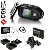 Drift GHOST Wi-Fi Full 1080p 32GB Wearable Action Camcorder with Built-In 2