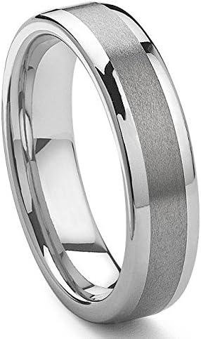 Eric Designs Tungsten Wedding Band Ring Size 4.0-15.5