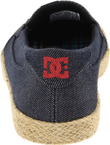 DC Shoes Villainess Jute SE D0303331 Damen Ballerinas Blau (Denim DNM)