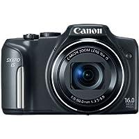 Canon PowerShot SX170 IS 16.0 MP Digital Camera, Black...