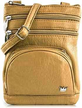 30aed9be7f7b Shopping Fabric or Nylon - Golds - Crossbody Bags - Handbags ...