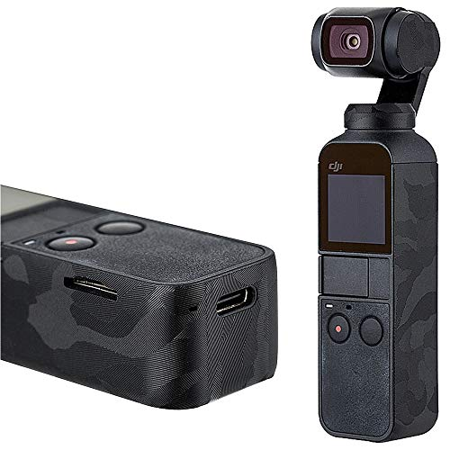 Anti-Scratch Protective Cover Skin Protector Film for DJI Osmo Pocket Handheld Camera - 3M Sticker/Shadow Black Camouflage