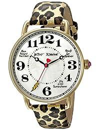 Betsey Johnson Women's BJ00207-16 Analog Display Quartz Brown Watch