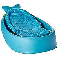 Skip Hop Moby Bath Smart Sling 3-Stage Bathtub, Blue