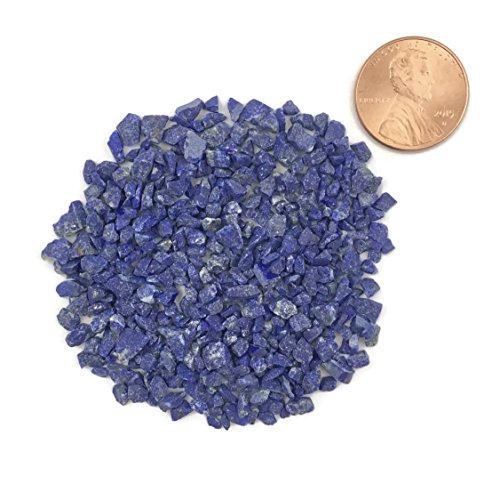Natural Crushed, Lapis Lazuli for Stone Inlay, Coarse, 1/2 Ounce