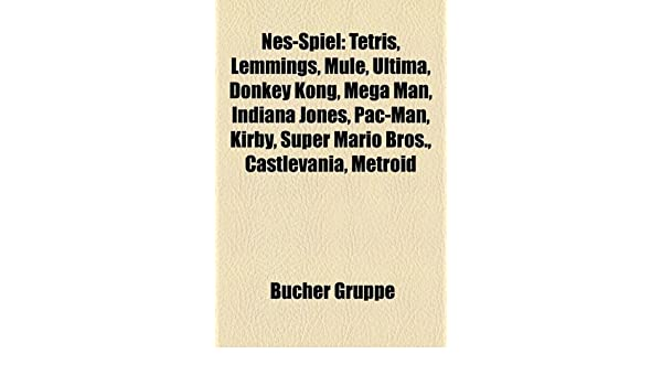 Nes-Spiel: Tetris, Lemmings, Mule, Ultima, Donkey Kong, Mega ...