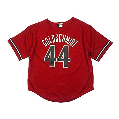 Paul Goldschmidt Arizona Diamondbacks MLB Majestic Red Official Alternate Cool Base Jersey For Boys (L(7))