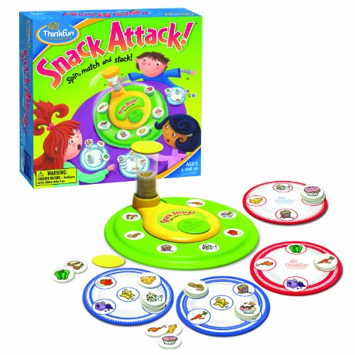 ThinkFun Snack Attack (Thinkfun Zingo)