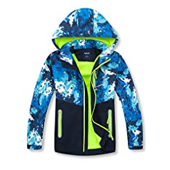 ChooTeeYeen Boys Girls Rain Jackets Ligh...