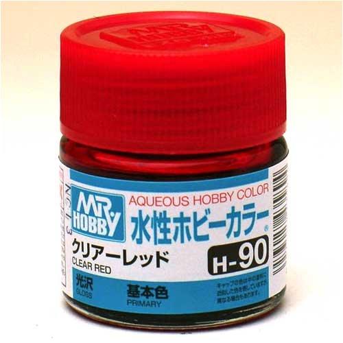 水性ホビーカラー H90 クリアーレッド