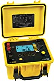 AEMC 6240 Four-Input Digital Microohm Meter with 10A Kelvin Clips and DataView Software, 6 Test Ranges, 400 Ohms Resistance