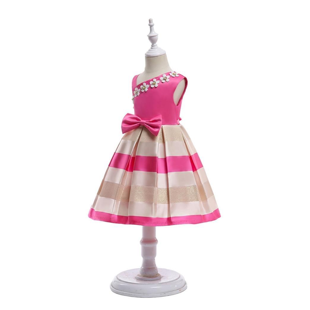 468a644635c ... Princesse Bowknot Fleur Costume Vetements Bébé Fille Pas Cher Robe Fille  Agrandir l image