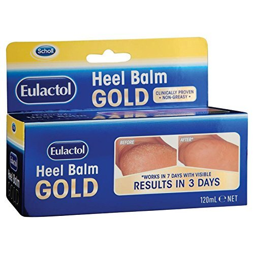 Flexitol Foot - Eulactol Heel Balm Gold 120ml with 1PCS Chinese Knot Gift, Made in Australia