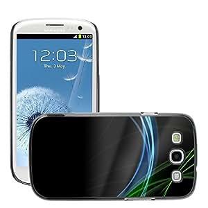 Super Stellar Slim PC Hard Case Cover Skin Armor Shell Protection // M00049978 vistas black aero of spirit // Samsung Galaxy S3 i9300