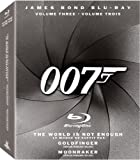 The James Bond Collection, Vol. 3 (The World is Not Enough / Goldfinger / Moonraker) [Blu-ray]