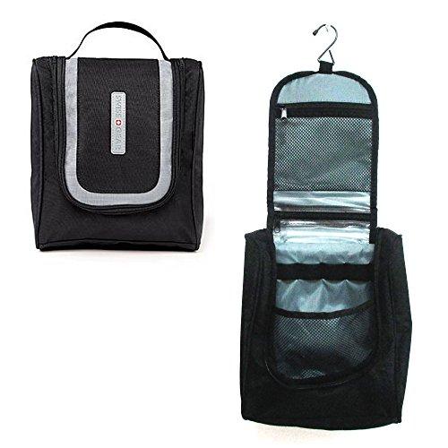 swiss-hanging-toiletry-kit-travel-bag-black-makeup-wash-cosmetic-shaving-zipper