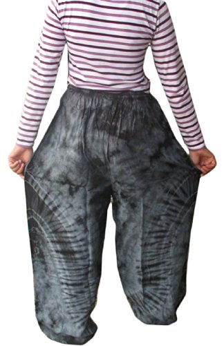Cotton Rayon Tie Dye Fisherman Yoka Pants Hippie Baggy - Harlem Kids Store