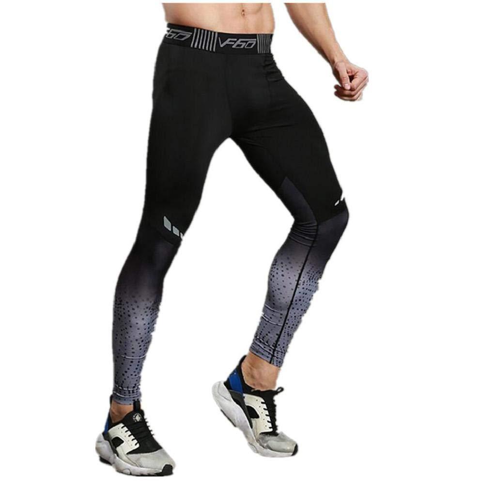 Pantaloni da Uomo Vendita Calda - ABCone Uomini Pantaloni Sweatpants Leggings Fitness Elastica ad Asciugatura Rapida Traspirante Pants Uomo Pantaloni Leggings Pantaloni della Tuta per Uomini