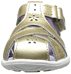 Stride Rite SRTech Tulip Sandal (Toddler), Gold, 6.5 M US Toddler