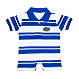 Florida Gators NCAA College Infant Baby Rugby Striped Romper (12 Months)