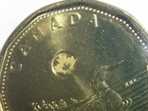CA 2013 error coin Uncirculated P-L Mint Set DOUBLING ON LOONIE Mint State Canadian Mint Coin Set