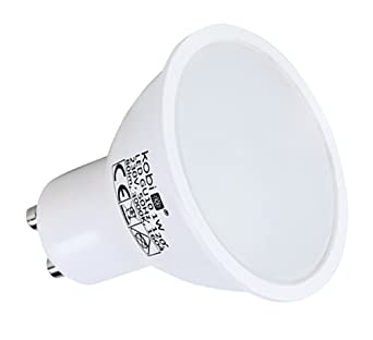 LED reflector bombilla GU10 1 W LED foco blanco cálido PACK OF 15: Amazon.es: Iluminación